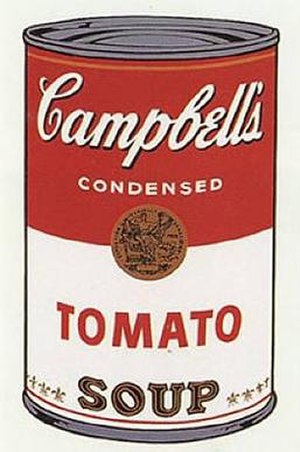 Andy Warhol, Campbell's Soup I, 1968.