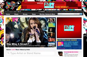 MTV.com in 2008