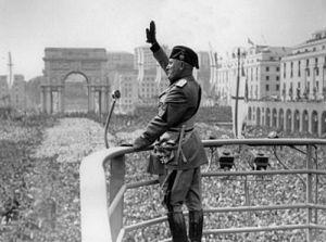 Il Duce: Italian Prime Minister Benito Mussoli...