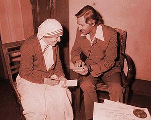 Mother Teresa and Dr. Johannes Maas