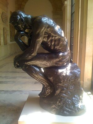 The Thinker at the Baltimore Museum of Art by ...