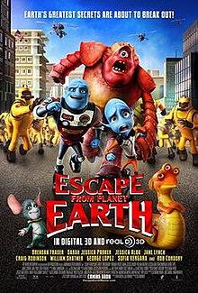 Escape from Planet Earth Wikipedia
