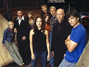 The season four cast—(clockwise from left) All...