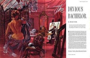 "Roald Dahl's story ""The Devious Bachelor&..."