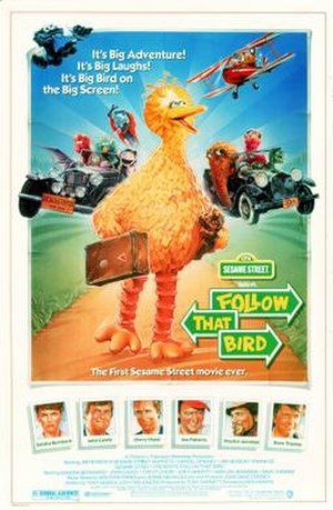 The Follow that Bird movie poster. The film wa...