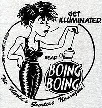 1990 Boing Boing logo, from a t-shirt