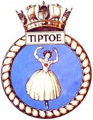 HMS Tiptoe (P332)