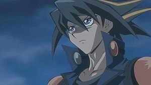 Yusei Fudo, the series' main protagonist.