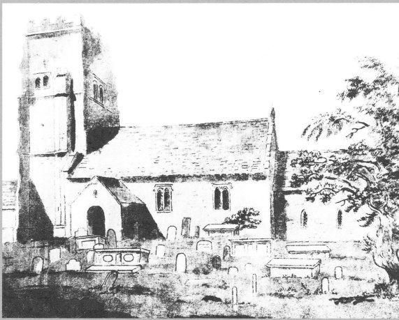 Alveston Old Church of St Helens