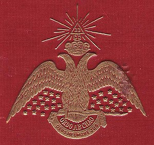 The Double Headed Eagle emblem of the Scottish...