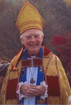 A lovely picture of Bishop Morris Maddocks