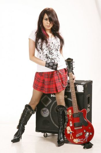 Tishma the teenage rockstar