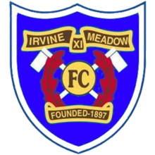 Irvine Meadow's crest