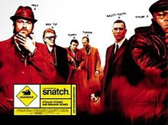 "Promotional poster of the movie, ""Snatch"""