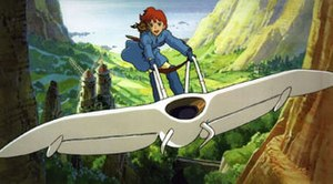 The film Nausicaä of the Valley of the Wind he...