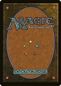 Magic: The Gathering card back