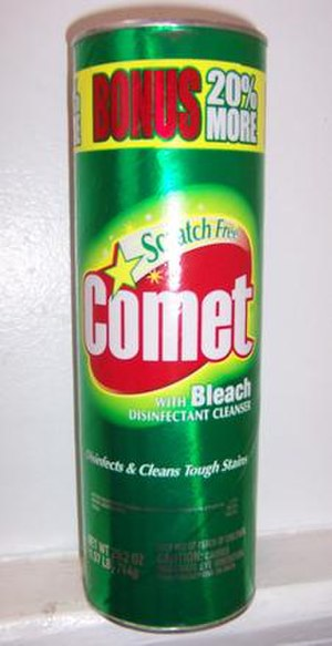 A can of Comet.