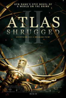 Atlas Shrugged  Part II   Wikipedia Poster for film  Atlas Shrugged Part II