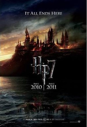 Poster for the two-part film Harry Potter and ...