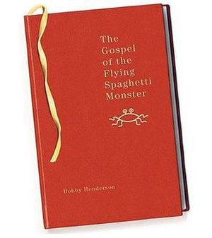 Cover of The Gospel of the Flying Spaghetti Mo...
