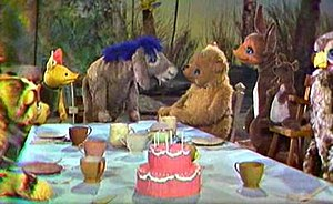 Winnie-the-Pooh and his friends debuted on NBC...
