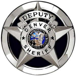 CO - Denver Sheriff Badge