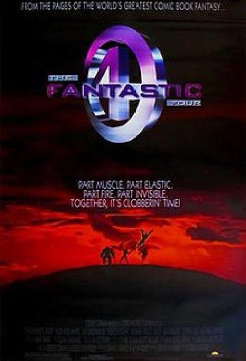 Image result for fantastic four 1994 poster