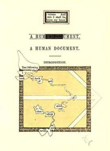 First page of the 1970 edition of Humument.