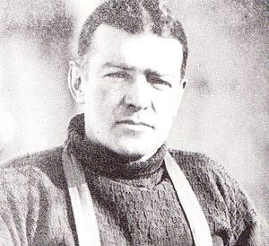 Photograph of Sir Ernest Shackleton taken duri...