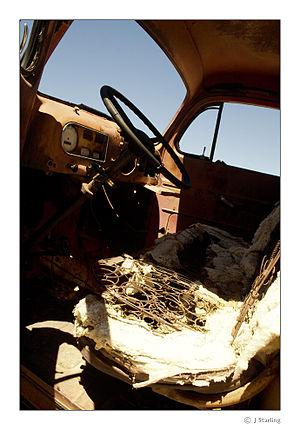 Old Truck, Rhyolite