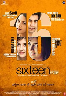 Sixteen Official Poster, 2013.jpg