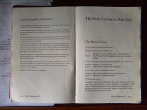 Book of Common Prayers in Saint Mary's Church ...