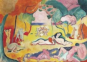 Le bonheur de vivre, Oil on canvas. In the col...