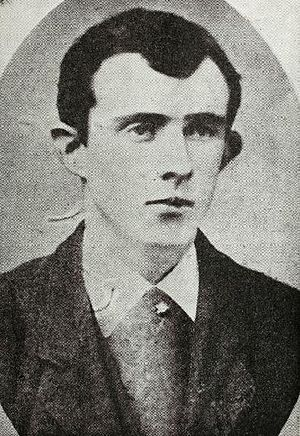 Tom Clarke as a young man