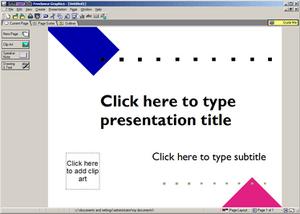 IBM Lotus Freelance Graphics