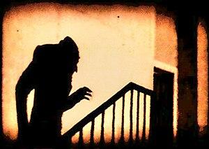 Shadow of Count Orlock, in the film Nosferatu