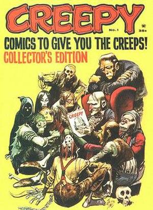 Debut of Creepy, edited by Russ Jones, 1963