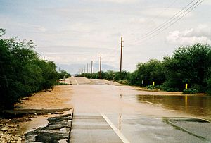 Flash flood near tucson az 2