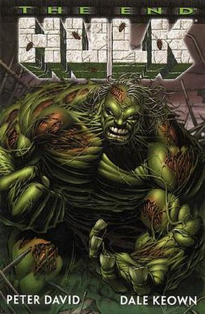 The cover to Incredible Hulk: The End, the fir...