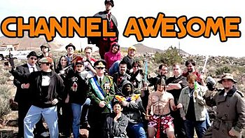 Channel Awesome members, along with Republic o...