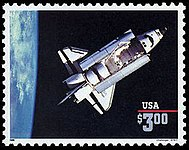 U.S. space exploration history on U.S. stamps - Wikipedia