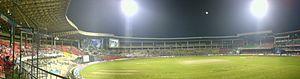 Panoramic view of M. Chinnaswamy Stadium, Bang...