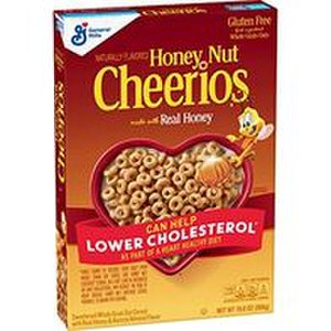Honey Nut Cheerios from Quebec, Canada