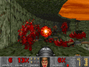Doom s level of graphic violence made the game...