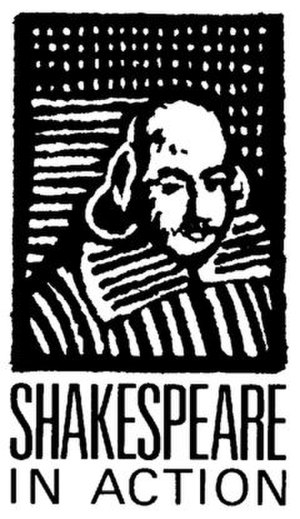 Black and white image of William Shakespeare