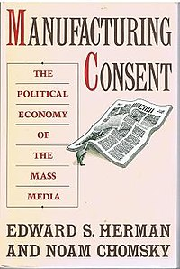 'Manufacturing Consent' book cover