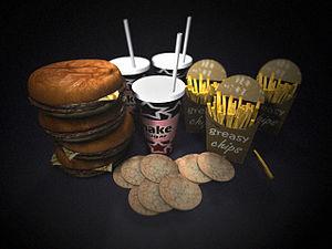 Junk food copy