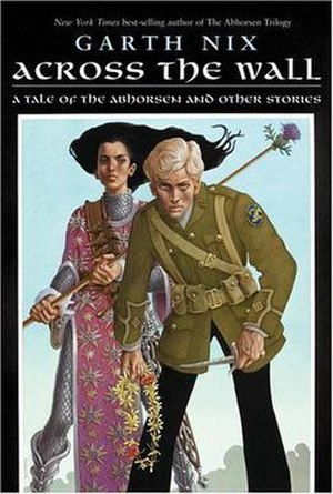 The American cover for Across the Wall