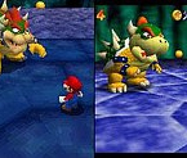 Comparison Of The Graphics From Super Mario 64 Ds Left With Those From The Original Nintendo 64 Version The Greater Number Of Polygons In The Ds Version