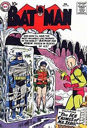 Batman #121 (1959), the first appearance of Mr. Freeze as
